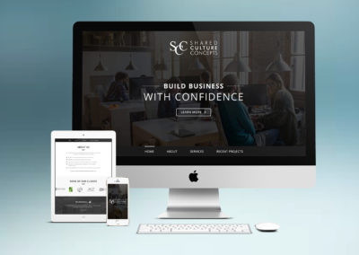 New SCC website design